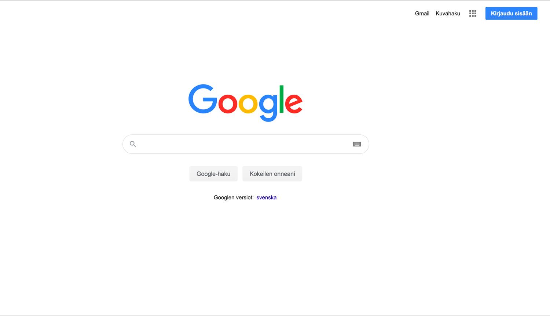 Googletilin perustaminen yritykselle