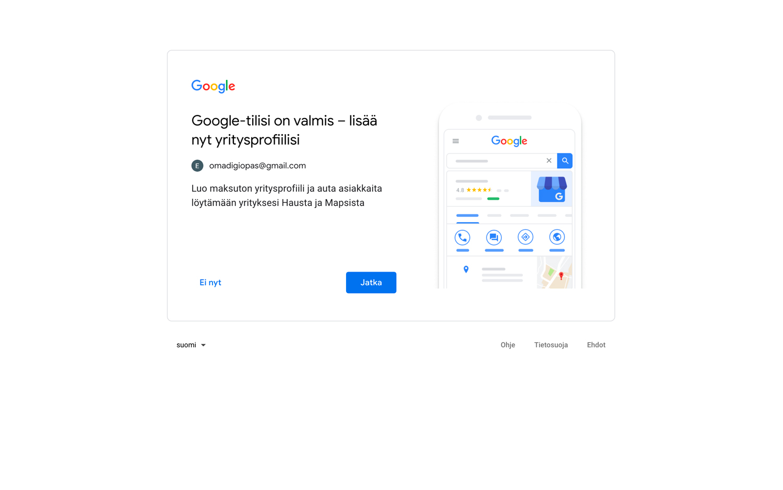Google Account Step 5
