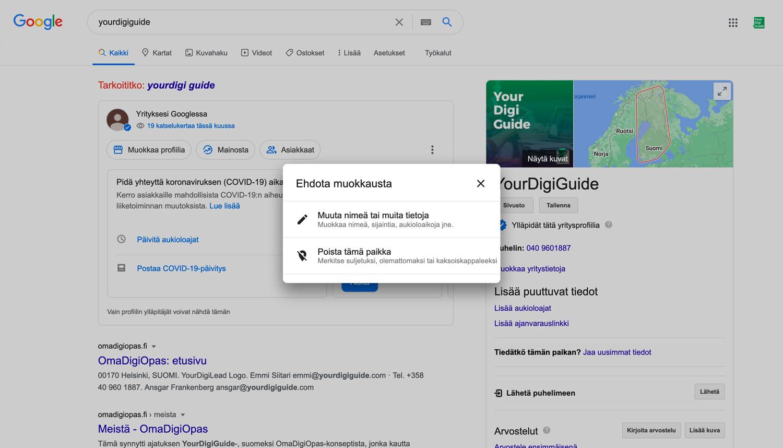 Google Update Step 3